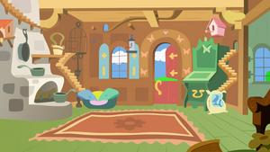 Fluttershy's Living Room by Sazlo