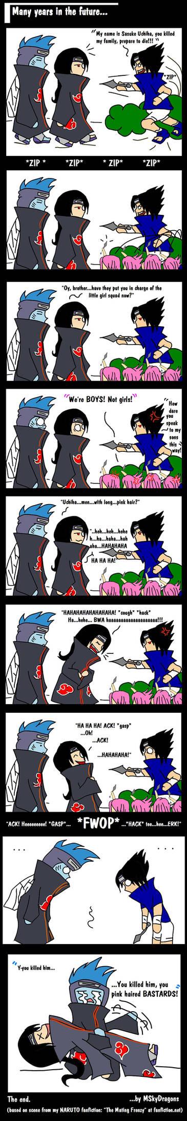 Sasuke's Vision of the Future