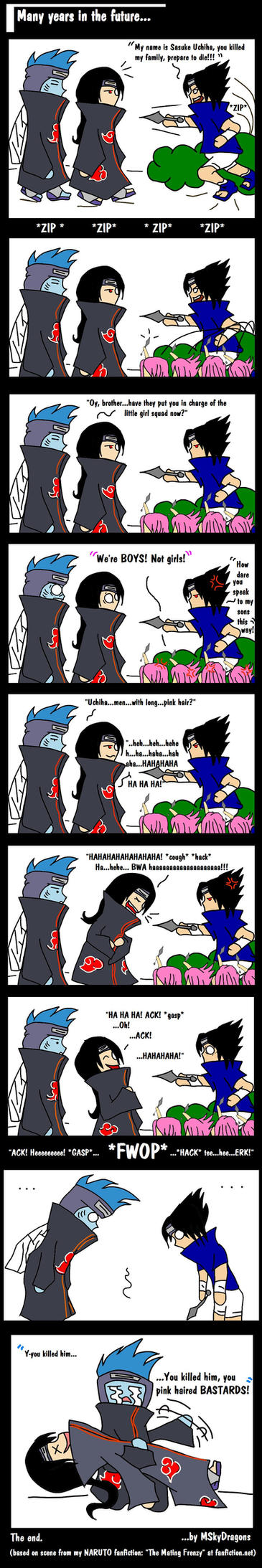 Sasuke's Vision of the Future by MSkyDragons