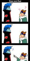 Naruto: Kisame meets Chouji