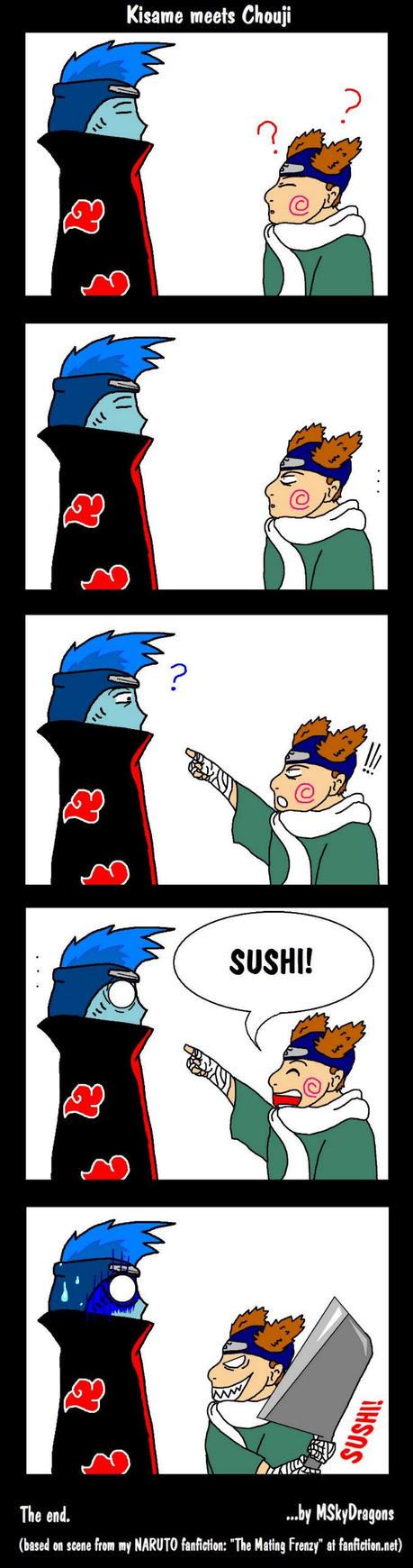 [تصویر:  Naruto__Kisame_meets_Chouji_by_MSkyDragons.jpg]
