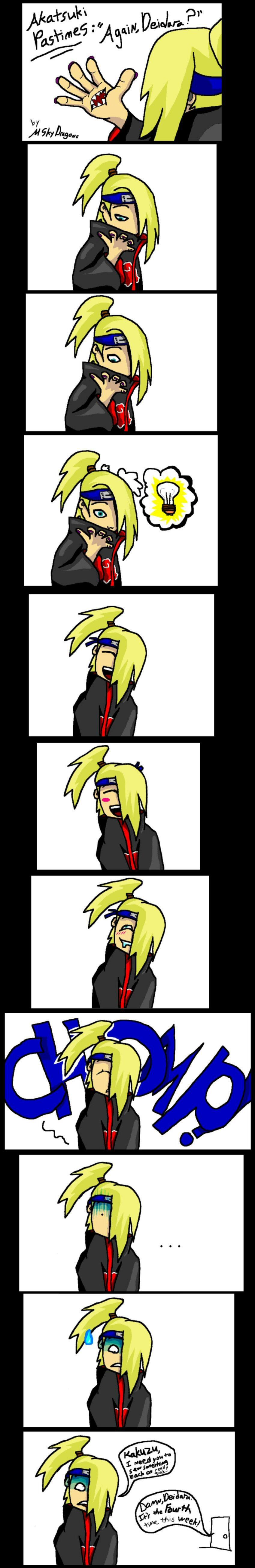 Naruto Fun Pics Akatsuki_Pastimes__Again__Dei__by_MSkyDragons