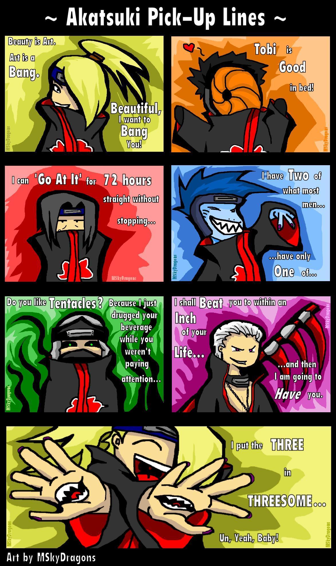 Funny Pic thread Naruto__Akatsuki_Pick_Up_Lines_by_MSkyDragons