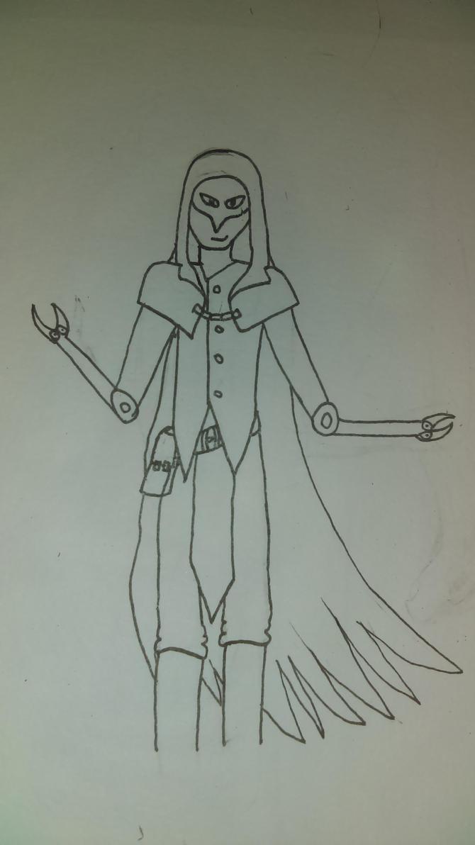 unnamed villain by HamiltonsAardvark
