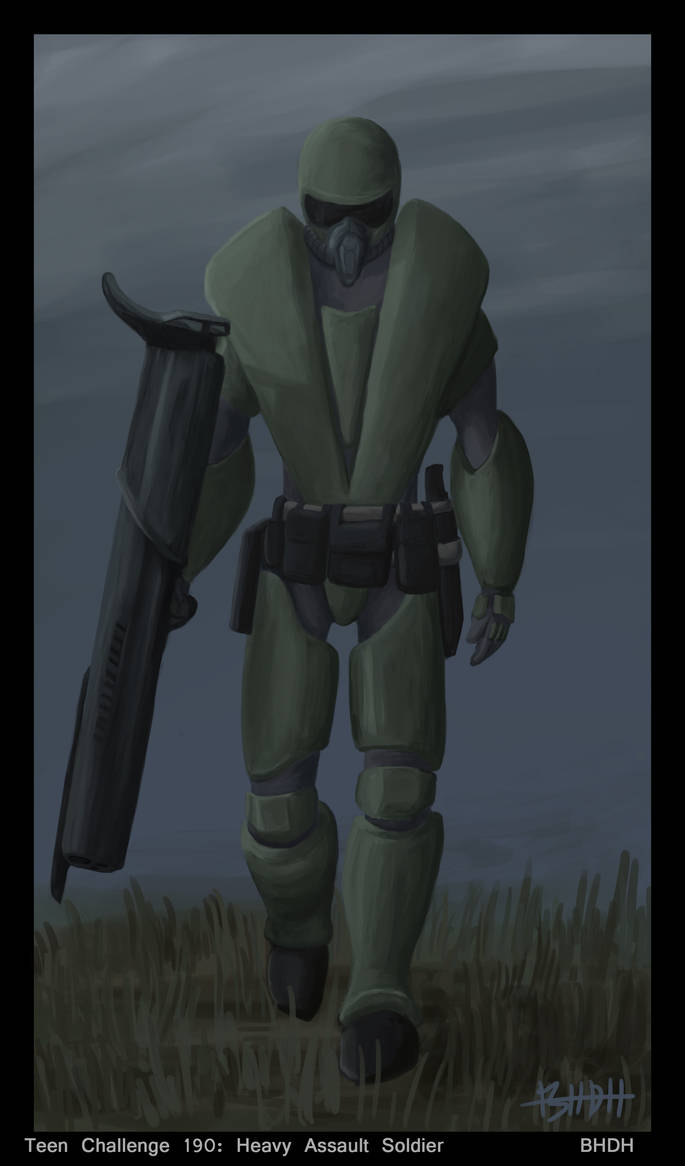 Heavy Assault Soldier by BHDH