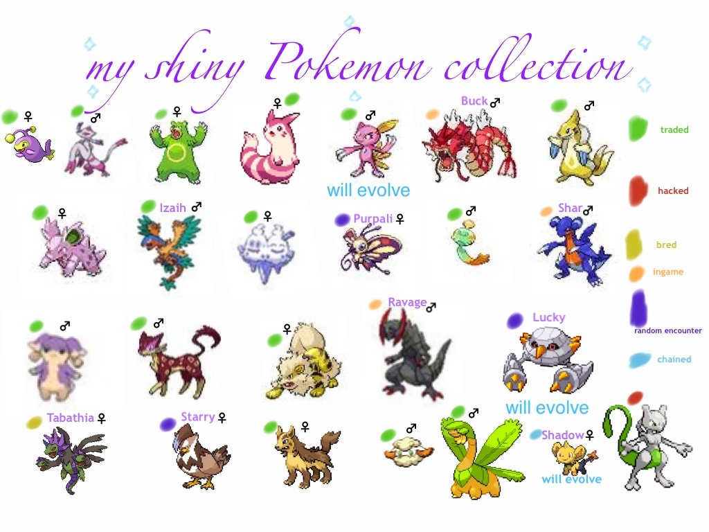 Prettiest Shiny Pokemon Images | Pokemon Images