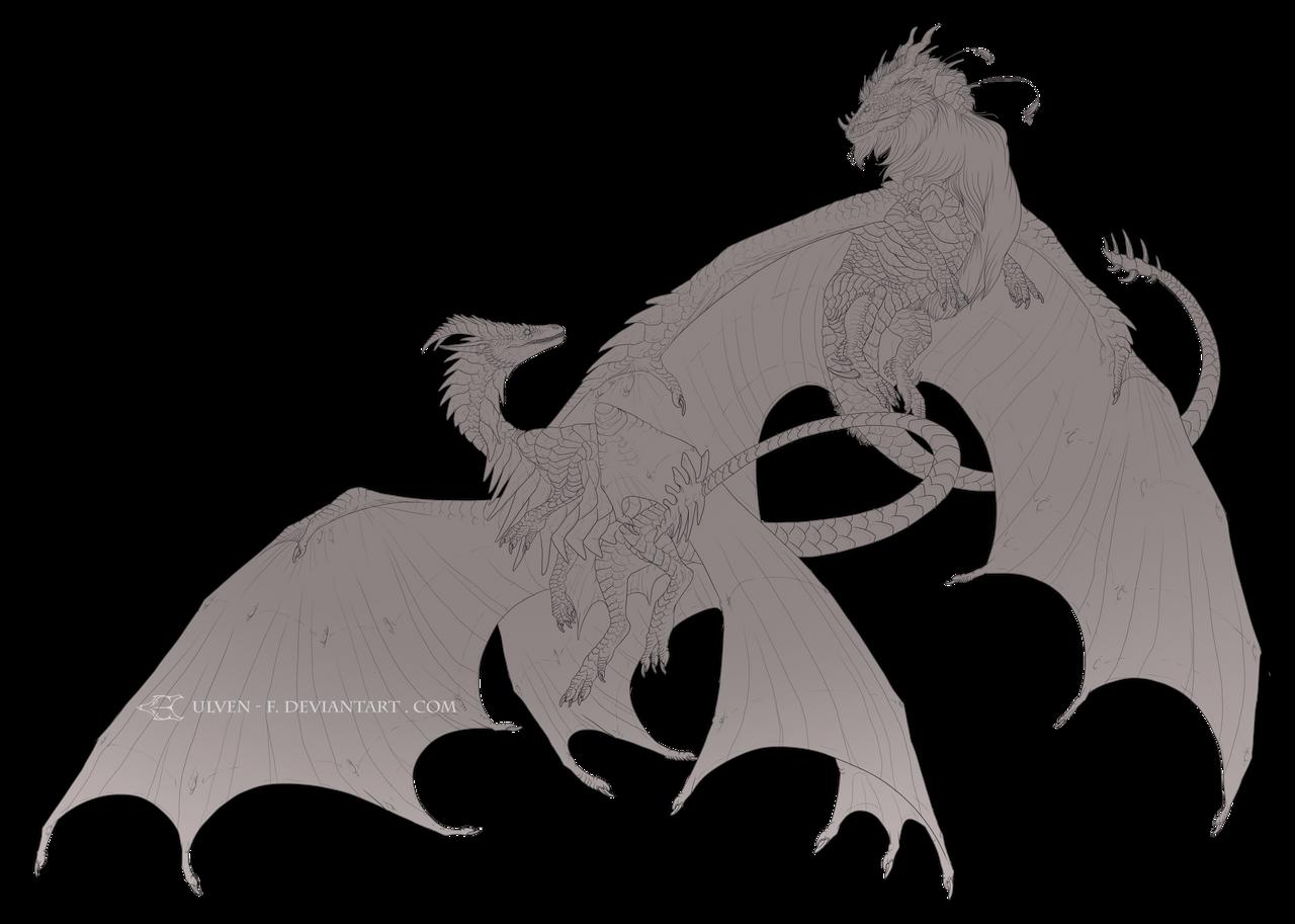 Daenonin and Denali |c| by ulv-f