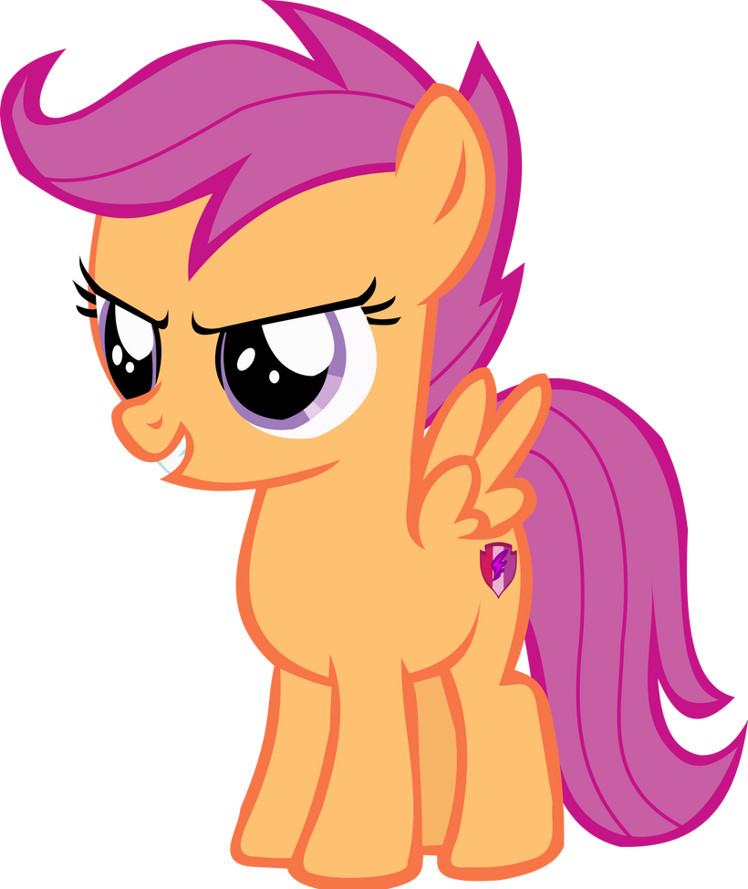 Scootaloo by thebosscamacho