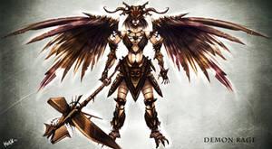 el demonio valkiria