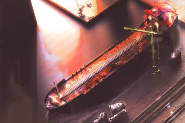 Shipyard (Pt. 1) by jamessmith6