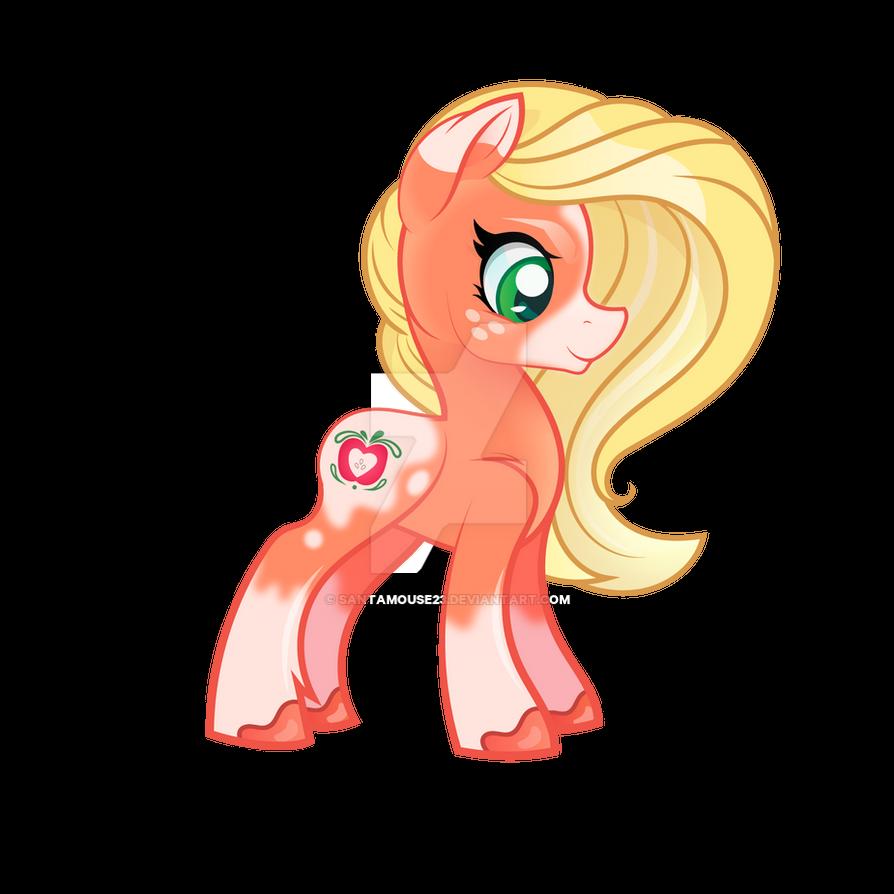 My Little Pony G5 Concept Art Inspired Applejack by