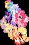 My Little Pony Mane 6 Generation 5 (G5)