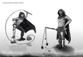 Character Design - Warrior Monk