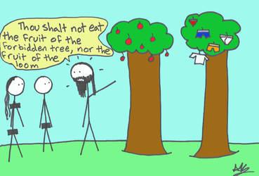 Garden of Eden by Nimril