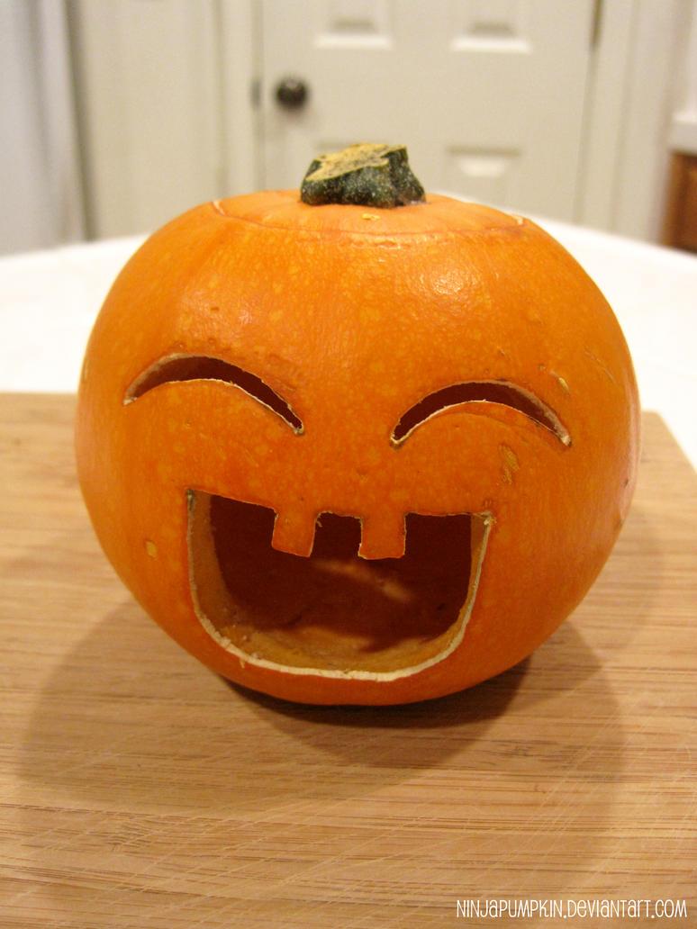 Cute pumpkin by ninjapumpkin on deviantart