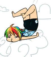 Human Rainbow Dash by fluffikitten