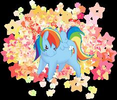 Chibi RainbowDash by fluffikitten