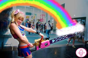Juliet's Big Rainbow by fluffikitten