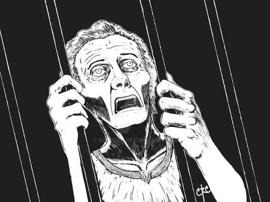 Deparate Jailed Man