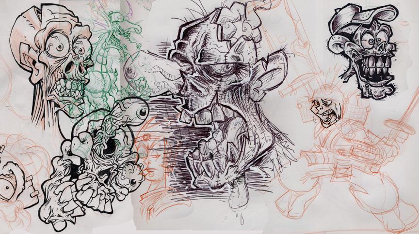 scribblejunks by 1311