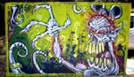 lightning Mural