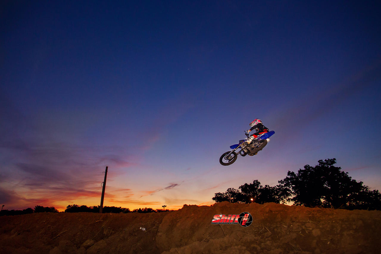 High flying sunset by ShiftonePhotography