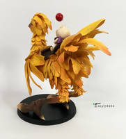 Chocobo and moogle from Final Fantasy by ALVO9494