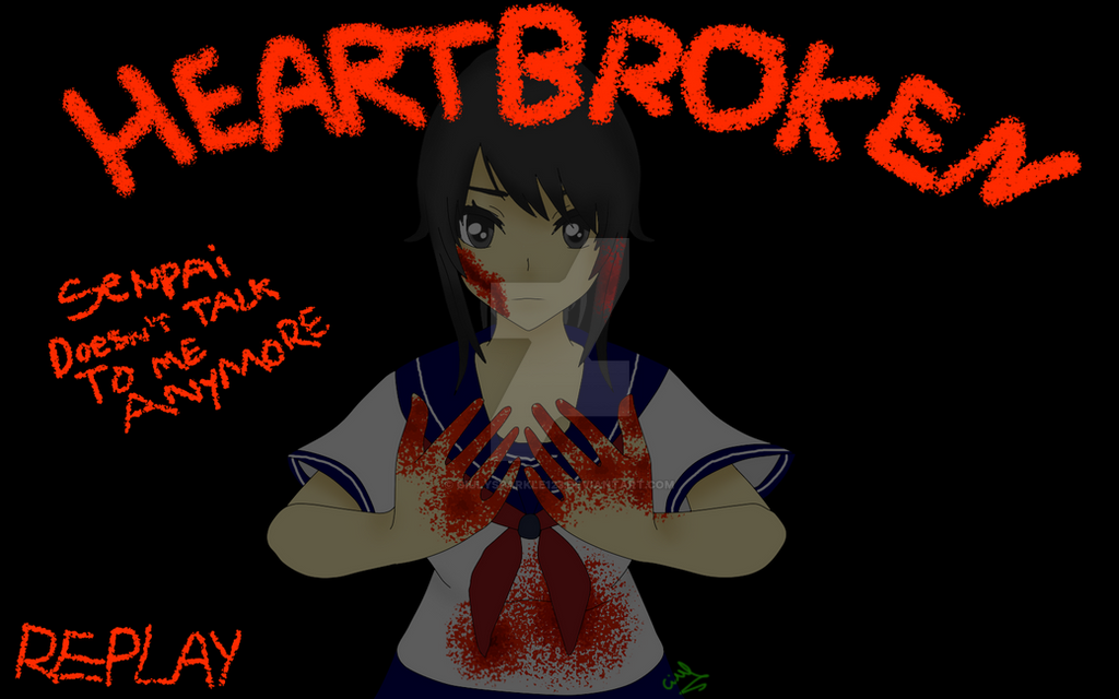 yandere simulator game over