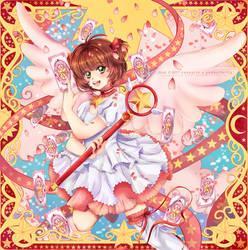 Platinum Princess : Cardcaptor Sakura by cakeyrin