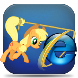Explorer icon - applejack by spikeslashrarity