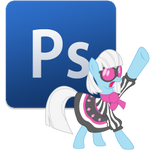 Photoshop icon - photo finish