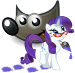 GIMP icon - rarity