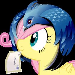thunderbird icon - fluttershy