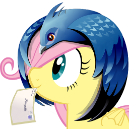thunderbird icon - fluttershy by spikeslashrarity
