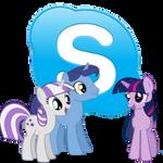 skype icon - twilight sparkle