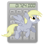 calculator icon - derpy hooves