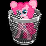 Trash icon - pinkie pie