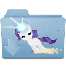 downloads folder- filly rarity by spikeslashrarity