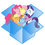 dropbox icon - mane six