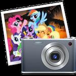 iPhoto icon - mane six