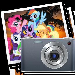 iPhoto icon - mane six by spikeslashrarity