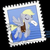 mac mail - derpy by spikeslashrarity
