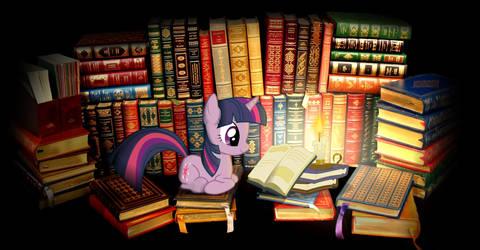 Twilight reading desktop