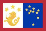 Philippine Flag for the Spratly Islands