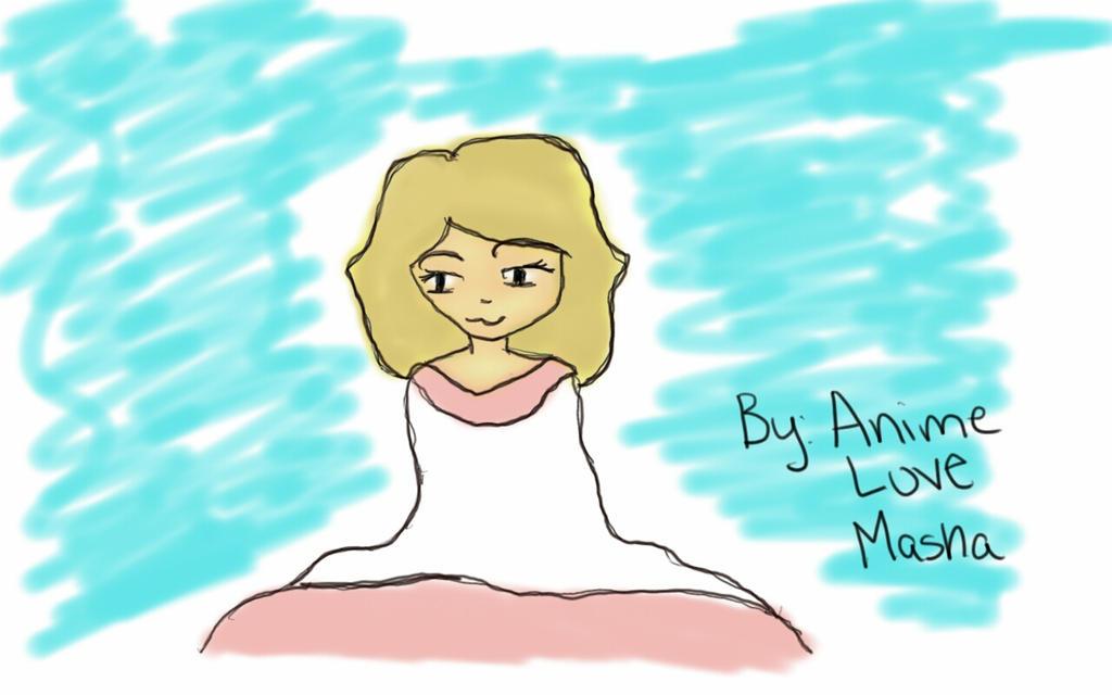 self portrait by AnimeLoveMasha