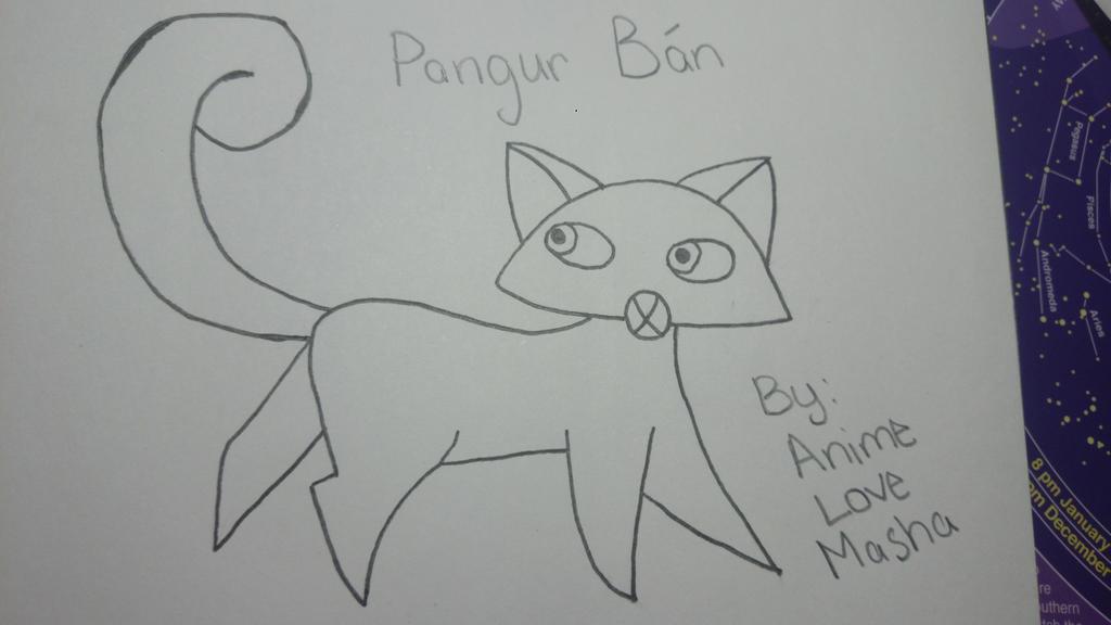 Pangur Ban by AnimeLoveMasha