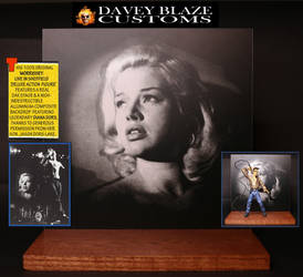 Morrissey Action Figure: Diana Dors Stage Backdrop by DaveyBlazeCustoms