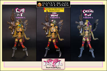 Everybody Loves Tank Girl Deluxe Action Figure- by DaveyBlazeCustoms