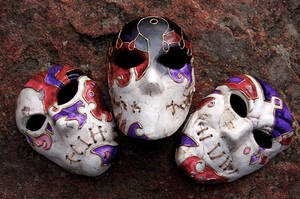 Jack of Blades Mask and Soul Masks by AnotherFaceStudio