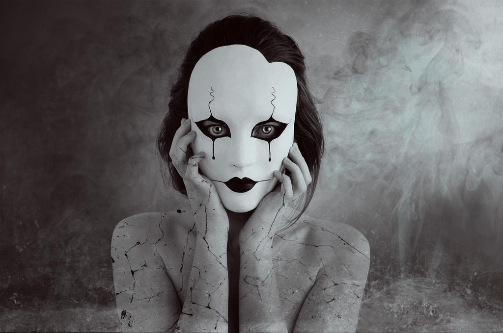 Pierrot Edit by AnotherFaceStudio
